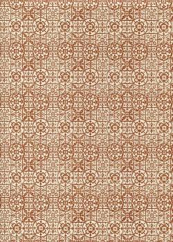 """""""Mosaïque"""" rouge sanguine (70x100)"""