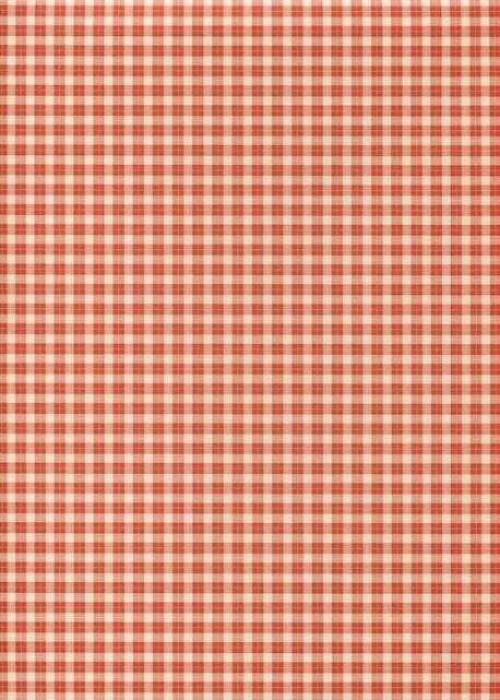 Vichy rouge foncé (70x100)