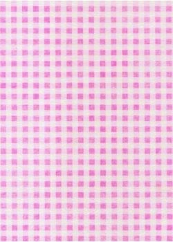 Voile intissé vichy rose vif (70x100)