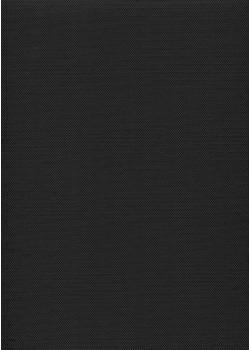 """Simili cuir """"Picot"""" noir intense (70x100)"""