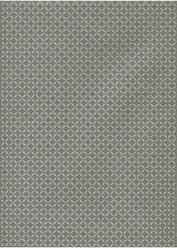 Perceval gris et blanc réhaussé argent (50x70)