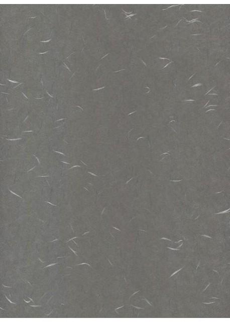 Véritable Tairei gris souris flammé argent (78x53)