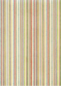 """""""Graphisme"""" les lignes multicolores (70x100)"""