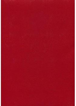 Papier imitation Lézard ton sur ton rouge (70x100)