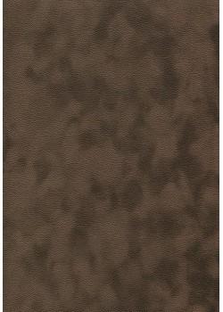 Simili cuir velours Zeste chocolat (70x100)