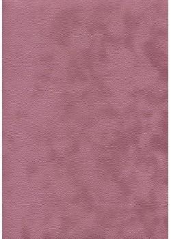 Simili cuir velours Zeste bois de rose (70x100)
