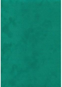 Simili cuir velours Zeste turquoise (70x100)