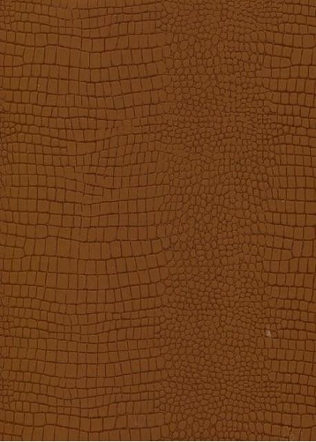 """Papier imitation Croco """"marron clair et foncé"""" (70x100)"""