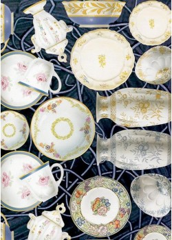 La peinture sur porcelaine (33x47)