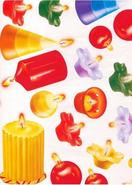 Les bougies fantaisies (33x47)*
