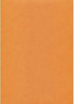 """Papier imitation cuir """"effet poudré"""" citrouille (50X65)"""