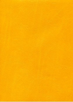 "Papier imitation cuir ""chevreau"" jaune orangé (50X65)*"