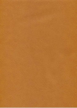 """Papier imitation cuir """"effet poudré"""" havane (50X65)*"""