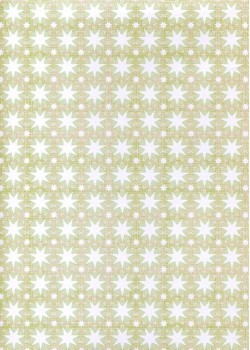 Etoiles ambiance tilleul (70x100)