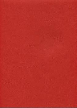 "Simili cuir ""Buffalo"" rouge vif (70x100)"
