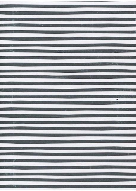 Les lignes grises et blanches (68x97)