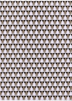 Art déco noir et blanc (50x70)