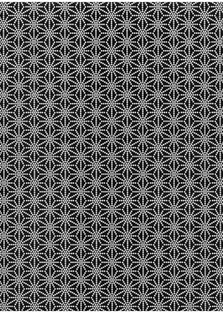 Guipure noire et blanche (50x70)