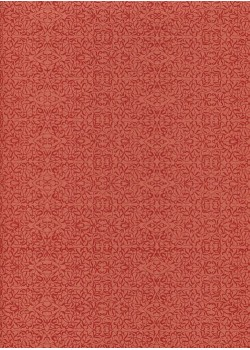 Miniature rouge fond framboise (50x70)