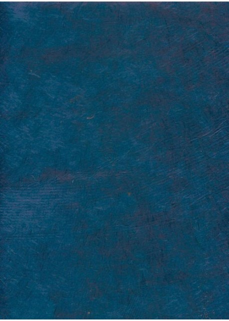 Papier lokta bleu outremer (50x75)