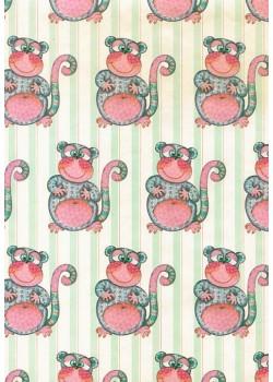 Ribambelle de singes (70x100)