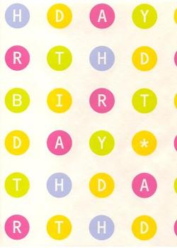 Les lettres dans les cercles de couleur (48x68)