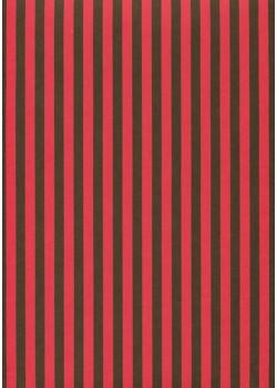 """Recto verso """"Bayadère rouge et noir / idem"""" (50x65)"""