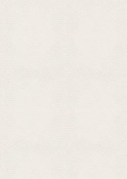 Papier imitation Lézard ton sur ton blanc (70x100)