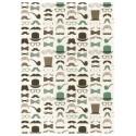 Collection de moustaches et accessoires masculins (70x100)