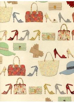 Les accessoires féminins en patchwork (70x100)