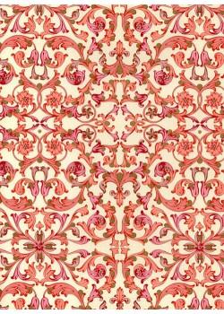 Venise - rose réhaussé or (70x100)