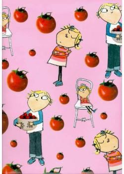 Charlie Lola et les tomates (50x70)