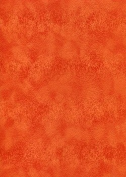 Simili cuir velours Zeste orange (70x100)