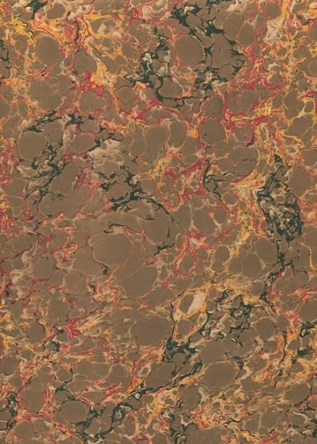 Papier reliure marbré N°01-5 (50x65)