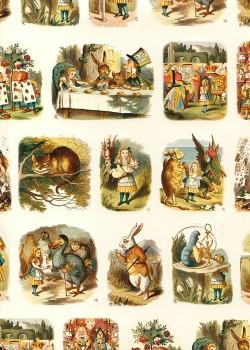 Alice au pays des merveilles (50x70)