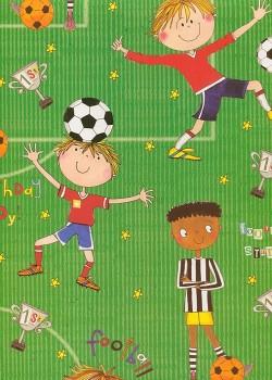 Le match de football (50X70)