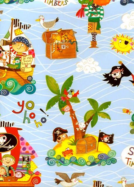 Les pirates (50x70)