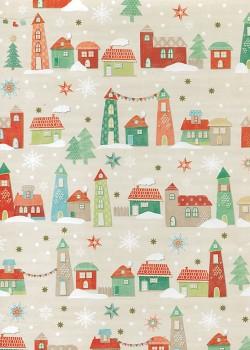 Le village de Noël (68x98)