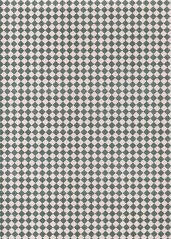 Damier gris et blanc (68X98)