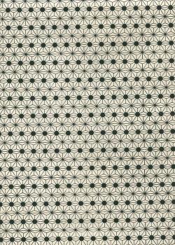 Lokta étoiles noires fond naturel (50x75)