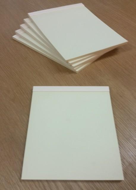 Bloc ivoire 21x15cm (70 pages)
