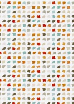 """Pasteline"" Palette praline et turquoise (68x98)"