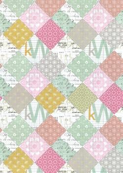 Patchwork couleurs d'antan (68x98)