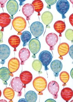Les ballons multicolores (50x70)