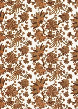 Feuillage brun réhaussé or (50x70)