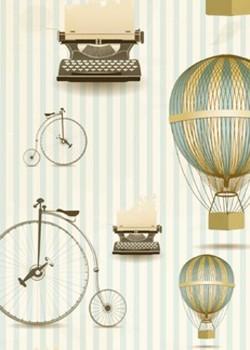 Les montgolfières anciennes (50x70)