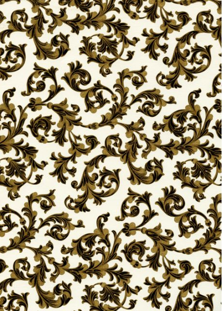 Venise style florentin - noir réhaussé or (70x100)