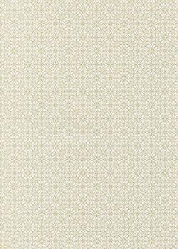 Floral gris perle (70x100)