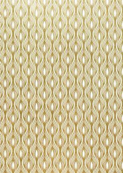 """""""Les vagues"""" dorées (70x100)"""