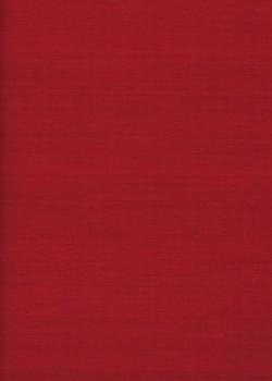 """Simili cuir """"Tussah"""" rouge (70x100)"""